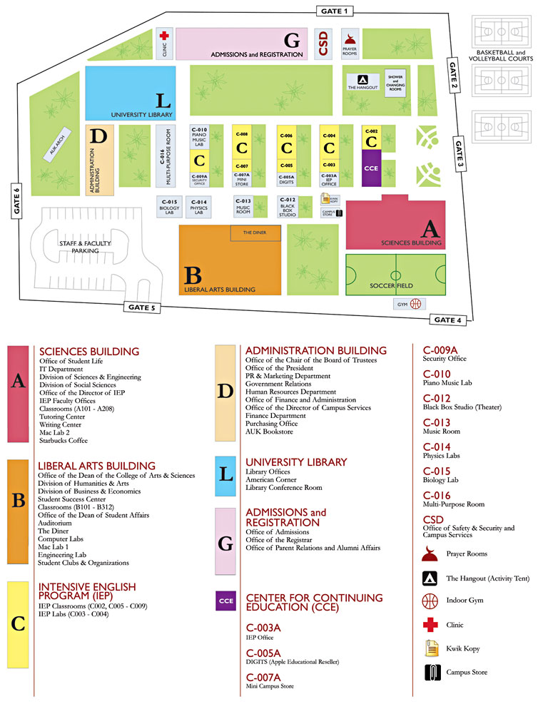 Auk About Auk Campus Map Directions